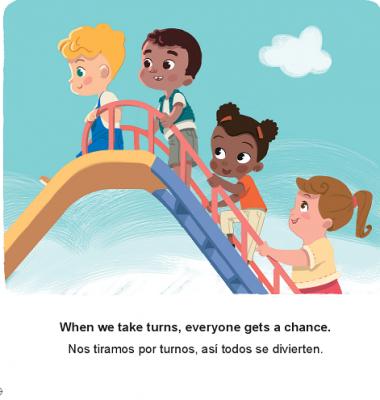 Sharing (English–Spanish) Patricia Billings