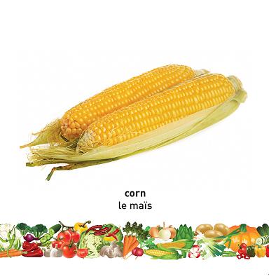 Vegetables (English–French) Milet