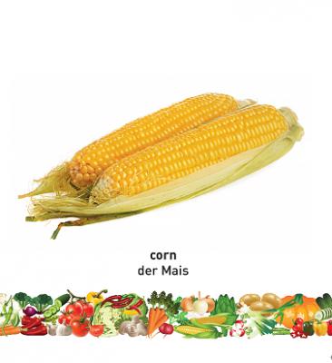 Vegetables (English–German) Milet